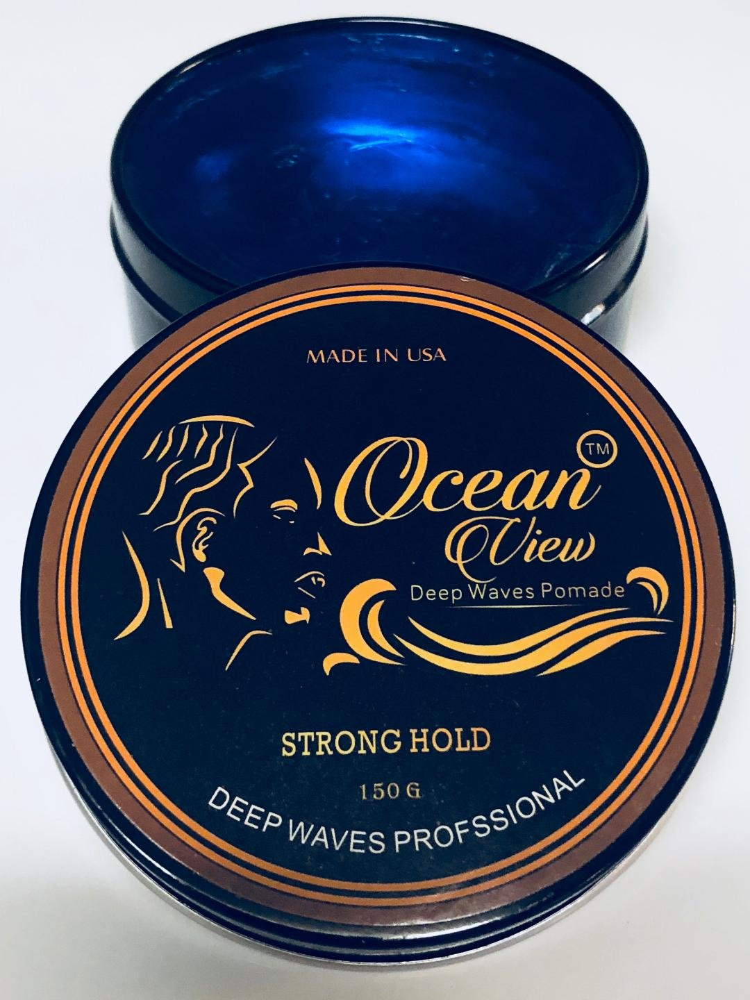 Ocean View Hair Pomade-Strong Hold 4 Oz- Pomade